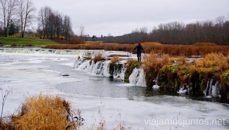 La Cascada más ancha de Europa. Itinerario de 14 días por Países Bálticos. Roadtrip por Países Bálticos de 2 semanas, ruta de viaje