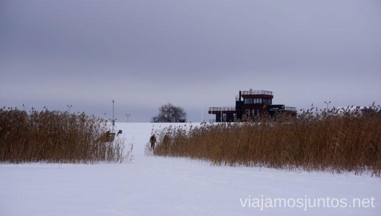 lago congelado. Itinerario de 14 días por Países Bálticos. Roadtrip por Países Bálticos de 2 semanas, ruta de viaje