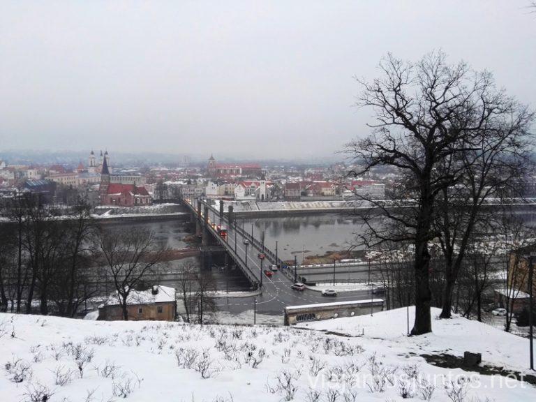 Vistas panorámicas de Kaunas. Itinerario de 14 días por Países Bálticos. Roadtrip por Países Bálticos de 2 semanas, ruta de viaje