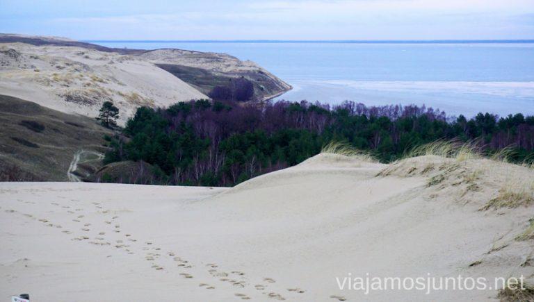 Dunas de Curlandia. Itinerario de 14 días por Países Bálticos. Roadtrip por Países Bálticos de 2 semanas, ruta de viaje