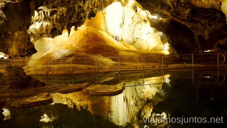 Cueva de las Maravillas. Visita guiada. Qué ver y hacer en Aracena Provincia de Huelva Andalucía España