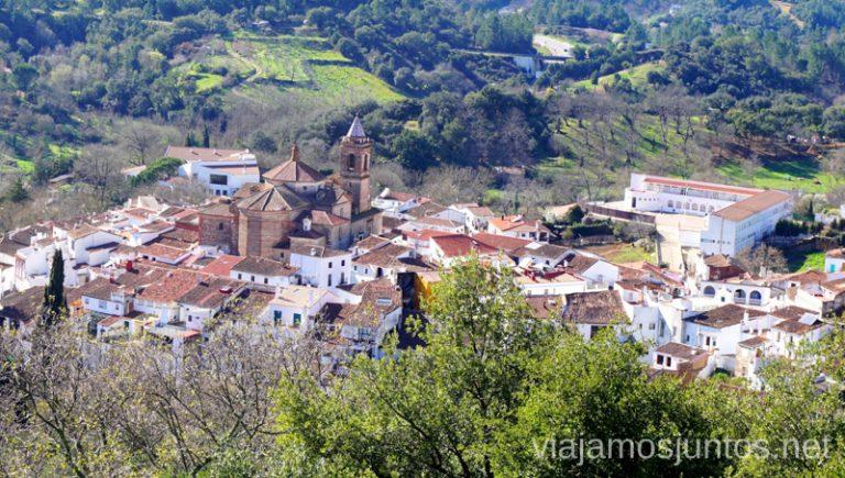 Galaroza. Qué ver y hacer en Aracena Provincia de Huelva Andalucía España