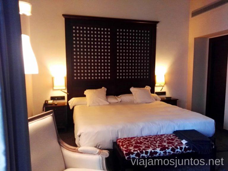 Nuestra habitación doble superior con vistas al claustro principal. Hotel Convento Aracena Dónde Alojarse en Aracena
