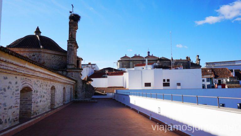 El campanario. Hotel Convento Aracena Dónde Alojarse en Aracena