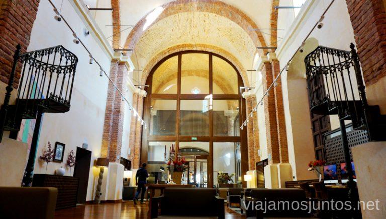 La iglesia del hotel convento Aracena. Hotel Convento Aracena Dónde Alojarse en Aracena