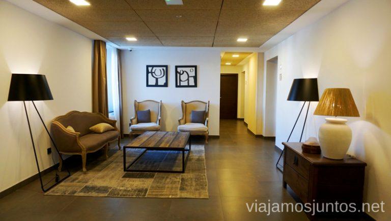 Pasillos. Hotel Convento Aracena Dónde Alojarse en Aracena