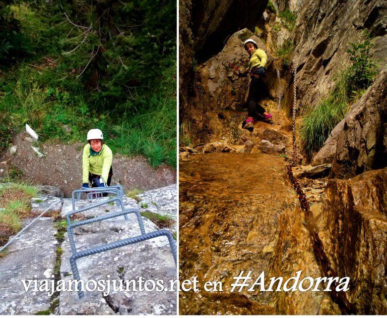¿Una vía ferrata en Andorra para esta Semana Santa? Vías Ferratas en Andorra. Destinos para Semana Santa