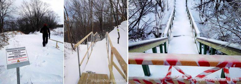 Cuidado por los parques de Lahemaa, Oru y Ontika en invierno. Qué ver y hacer en el norte de Estonia. Países Bálticos.