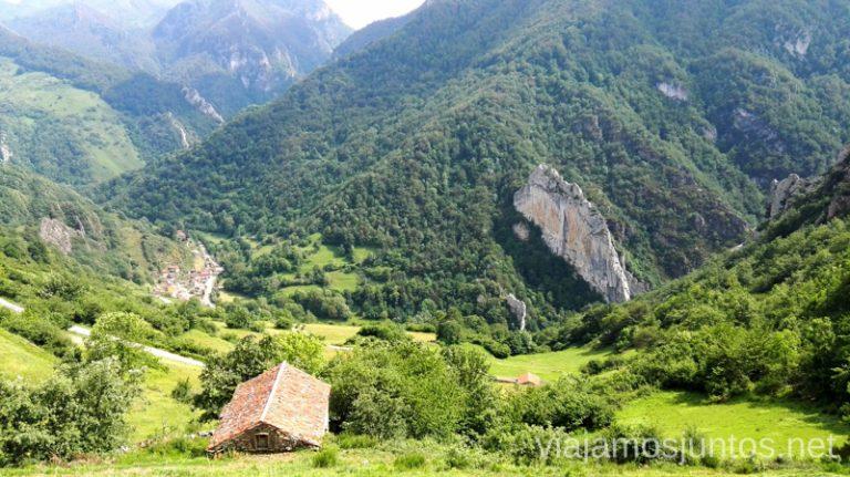 Pueblos con encanto y con vistas en el valle de Saliencia. Parque Natural de Somiedo, Asturias. Ruta en coche por los pueblos con encanto del Parque Natural de Somiedo Dónde ir en Semana Santa