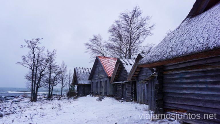 Altja - pueblo pesquero en el Norte de Estonia. Qué ver y hacer en el norte de Estonia. Países Bálticos.