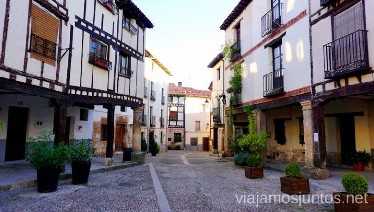 Calles encantadoras de Covarrubias Triángulo del Arlanza Qué ver y qué hacer en Arlanza Burgos Castilla y León