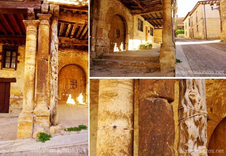 Detalles de la casa más antigua de Santo Domingo de Silos Qué ver y qué hacer en el valle del Arlanza. Pueblos con encanto del Arlanza Castilla y León