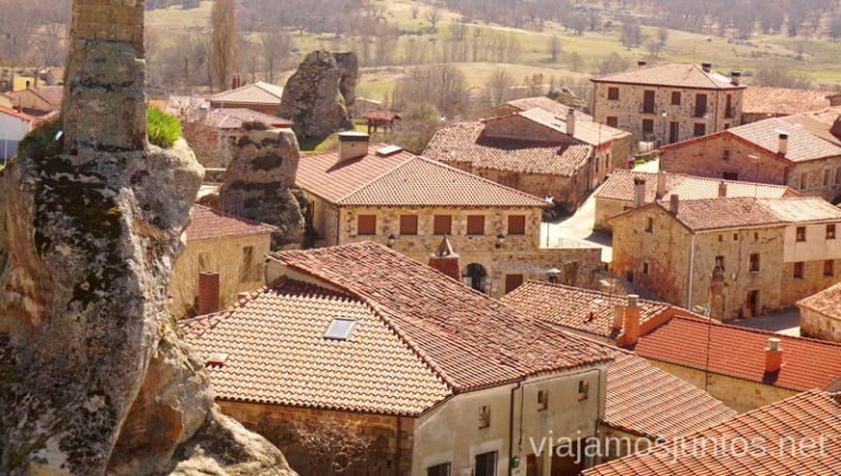 Vistas de las piedras en medio de Hacinas Qué ver y qué hacer en el valle del Arlanza. Pueblos con encanto del Arlanza Castilla y León