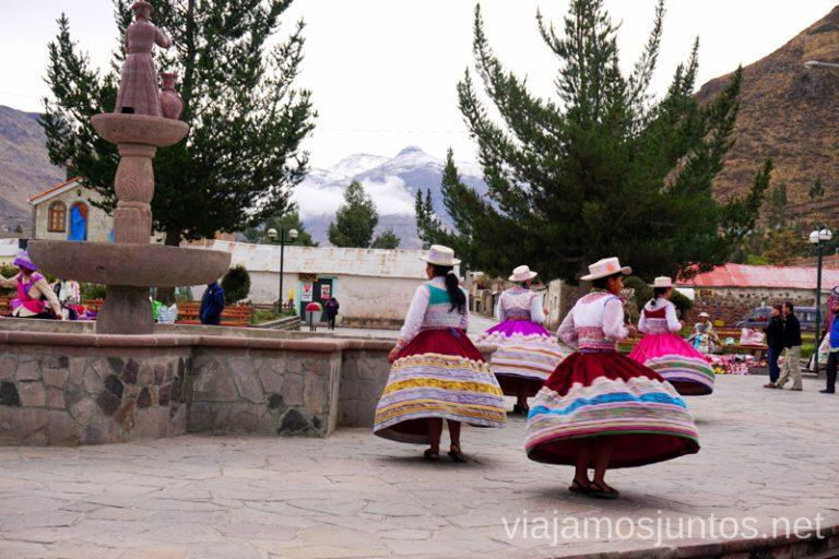 Bailes tradicionales en Perú. Cómo ser Viajero Responsable Guía de los viajeros responsables para principiantes