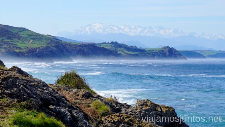 Una senda desde la ermita de Santa Justa para ver los Picos de Europa. Qué ver y hacer en los alrededores de la Costa Quebrada Cantabria Spain