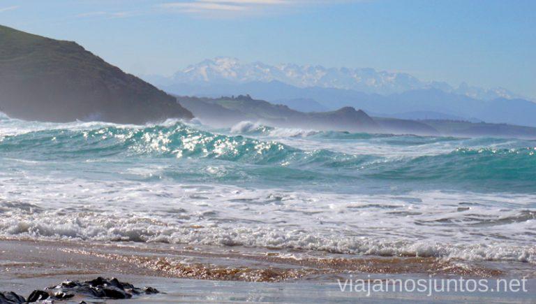 Playa de Tagle. Qué ver y hacer en los alrededores de la Costa Quebrada Cantabria Spain