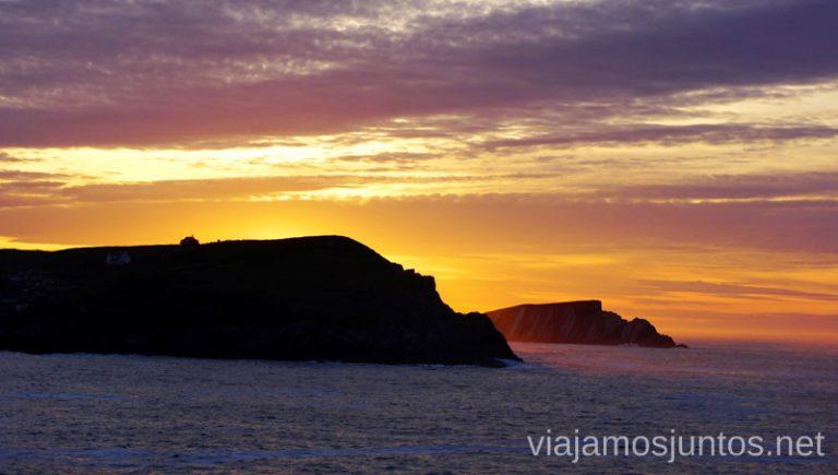 Atardecer sobre la Costa Quebrada desde la ermita Virgen del Mar Qué ver y hacer en Costa Quebrada Cantabria Spain