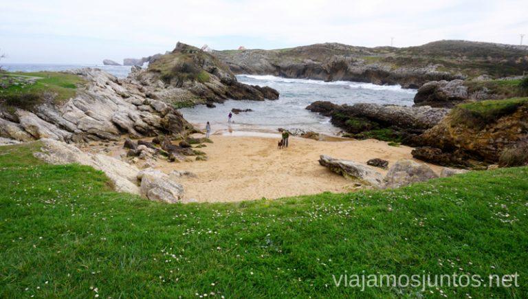 Playa de San Juan de la Canal Qué ver y hacer en Costa Quebrada Cantabria Spain