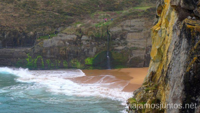 Ruta Costera por la Costa Quebrada. Playa de Covachos Qué ver y hacer en Costa Quebrada Cantabria Spain