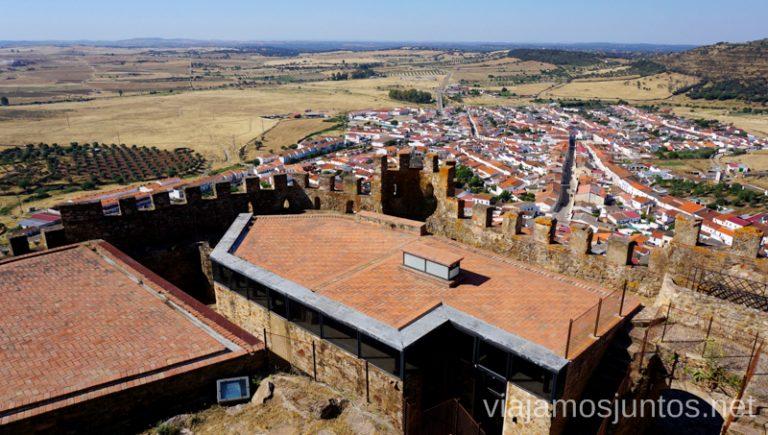 Castillo de Miraflores. Qué ver y hacer en el lago Alqueva #Experiencias_Alqeuva Extremadura Portugal