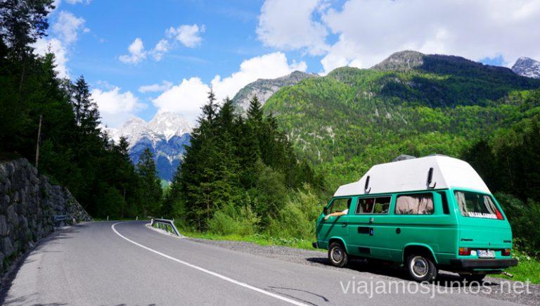 Recorriendo Eslovenia en campervan. Guía para Viajar a Eslovenia Información práctica Eslovenia en Campervan #EsloveniaJuntos