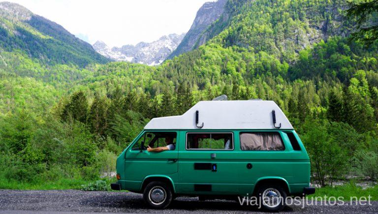 Viajar a Eslovenia en campervan. Alquilar Campervan en Eslovenia Consejos y datos prácticos #EsloveniaJuntos