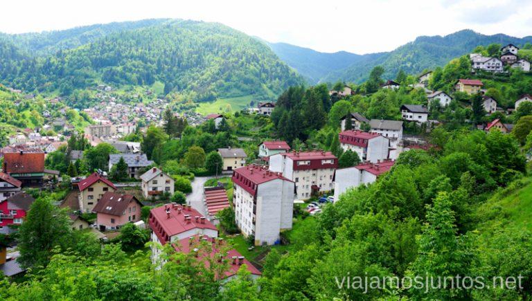 Idrija - una de las ciudades más curiosas de Eslovenia. Guía para Viajar a Eslovenia Información práctica Eslovenia en Campervan #EsloveniaJuntos