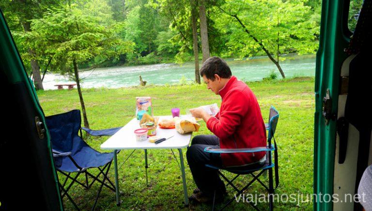 Momentos especiales de nuestro viaje por Eslovenia en campervan. Alquilar Campervan en Eslovenia Consejos y datos prácticos #EsloveniaJuntos