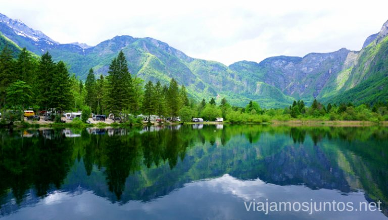 Lago Bohinj - uno de los destinos más fascinantes de Eslovenia. Guía para Viajar a Eslovenia Información práctica Eslovenia en Campervan #EsloveniaJuntos