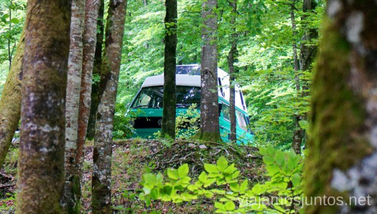 Os presentamos a nuestra Campervan con la que recorrimos Eslovenia - Jaga Baba. Alquilar Campervan en Eslovenia Consejos y datos prácticos #EsloveniaJuntos