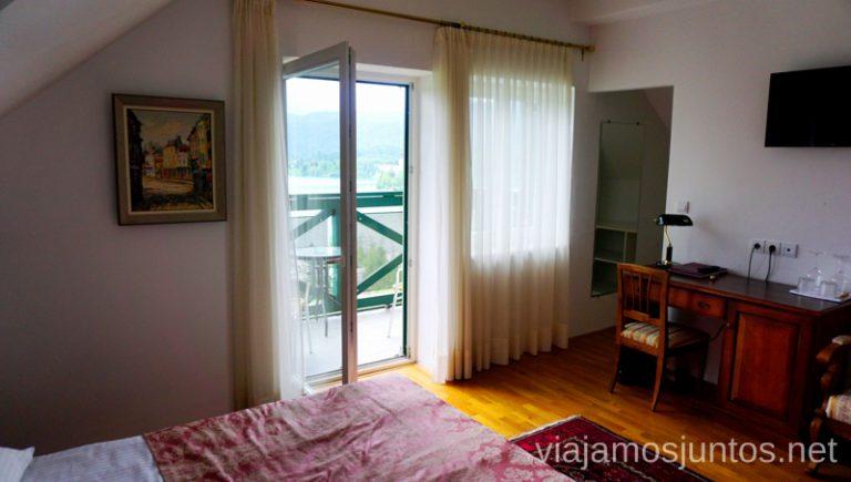 Nuestra habitación en el hotel Triglav Bled. Alojarse en el Hotel Triglav Bled Eslovenia #EsloveniaJuntos