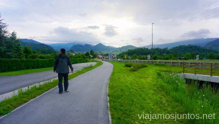 Caminando por las carreteras de Eslovenia. Guía para Viajar a Eslovenia Información práctica Eslovenia en Campervan #EsloveniaJuntos