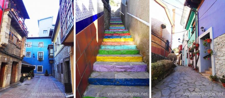 Calles estrechas de Ribadesella. Qué ver en Ribadesella y alrededores