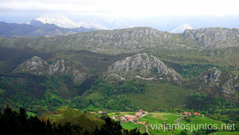 Vistas desde el mirador El Fitu. Qué ver en Ribadesella y alrededores