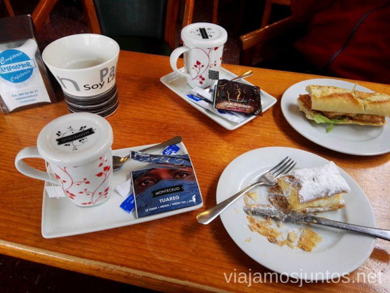 Desayuno en Arriondas. Qué ver en Ribadesella y alrededores Descenso del Sella