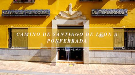 Camino de Santiago entre León y Ponferrada