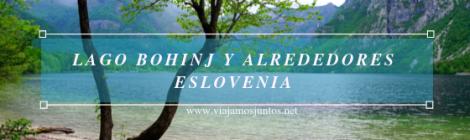 Bohinj Lake.