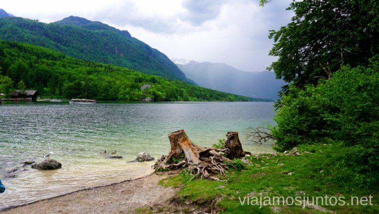 Paradas paradisíacas en el lago Bohinj. Qué ver y hacer en Eslovenia Campervan en Eslovenia #EsloveniaJuntos