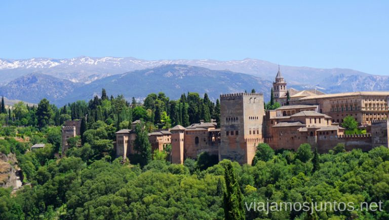 Granada está a 30 minutos en coche de Guadix. Qué ver y hacer en Granada en verano Andalucía