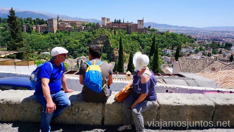 Disfrutando de Granada en verano. Qué ver y hacer en Granada en verano Andalucía