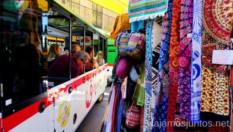 Trenecito turístico de Granada. Qué ver y hacer en Granada en verano Andalucía