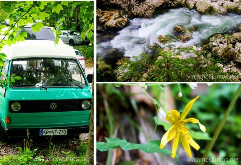 Slap Savica. Qué ver y hacer en Eslovenia Campervan en Eslovenia #EsloveniaJuntos