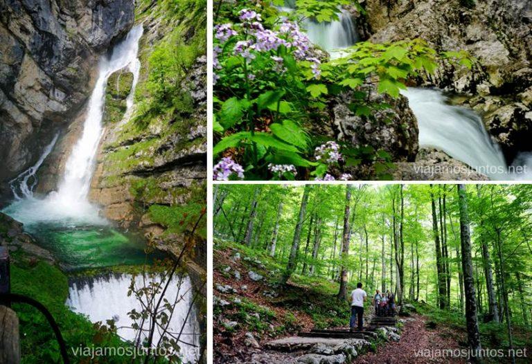 Cascada Savica. Qué ver y hacer en Eslovenia Campervan en Eslovenia #EsloveniaJuntos