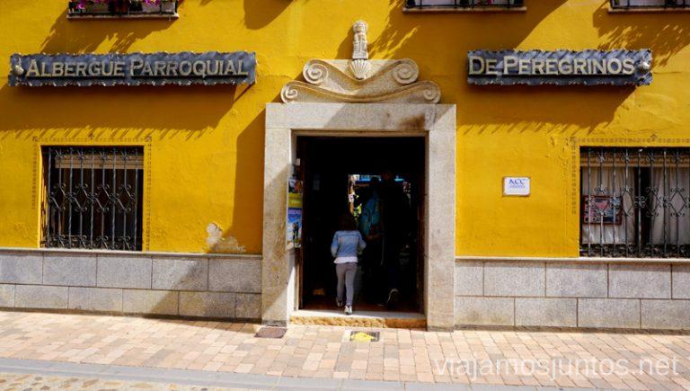 Albergues de peregrinos en el Camino de Santiago. Camino de Santiago entre León y Ponferrada