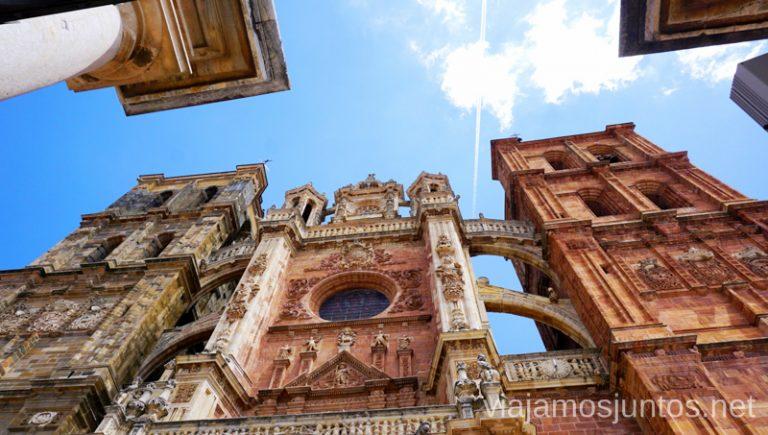 Catedral de Astorga. Camino de Santiago entre León y Ponferrada.