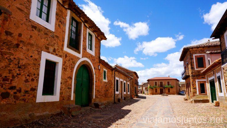Castrillo de los Polvazares. Camino de Santiago entre León y Ponferrada