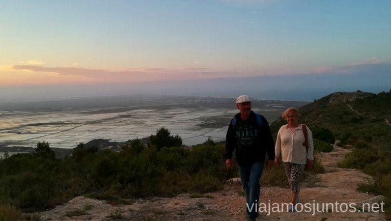 Atardecer en Cullera. Qué ver y hacer en Cullera y alrededores en verano Valencia
