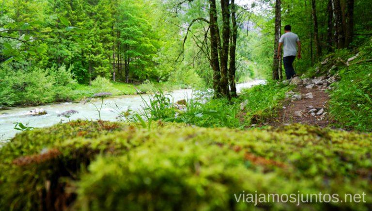 Ruta de Velika Korita. Qué ver y hacer en Valle de Soča Eslovenia #EsloveniaJuntos