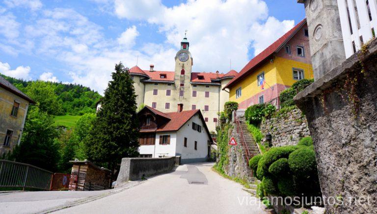 Castillo Qué ver y hacer en Idrija Eslovenia #EsloveniaJuntos