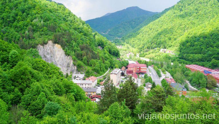 Montañas. Qué ver y hacer en Idrija Eslovenia #EsloveniaJuntos